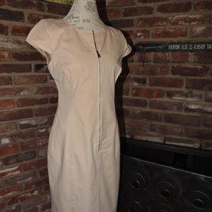Worth Tan Dress Size 10